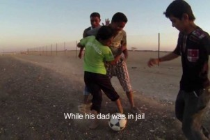 Syria's Refugee Children: Abdallah Football Team